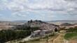 Panoramic view of Rocchetta Sant'Antonio, a medieval village in Puglia region, Italy.