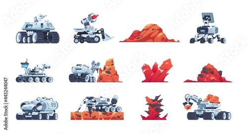 Vászonkép Cartoon rover