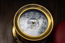 Barometer In Ship's Bridge