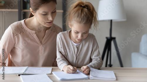 Obraz na plátne Preparing lessons