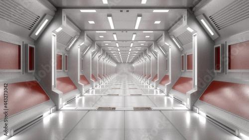 Obraz na plátně 3d render