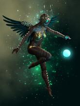 Dancing A Star, 3d CG