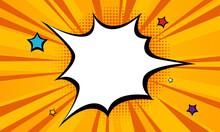 Halftone Comic Background Vector Illustration