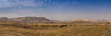Panoramic View Of The Anatolian Plains Of Cappadocia, Turkey