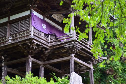 Murais de parede 温泉薬師瑠璃殿、長野県上田市別所温泉