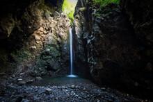 Cave Of The Partisans In The Taleggio Valley Brembana Bergamo Italy