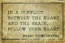 Heart And Brain Vivekananda