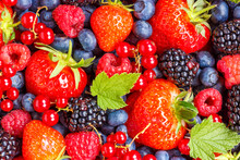 Berries Fruits Berry Fruit Strawberries Strawberry Blueberries Blueberry Background