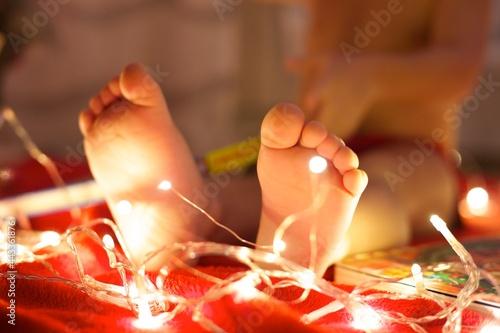 Fotomural Piedini natalizi