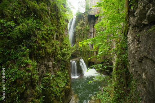 Fotografie, Obraz Gorges de la Langouette im französischen Jura