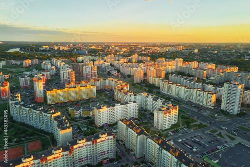 Cityscape of Gomel, Belarus Fototapet