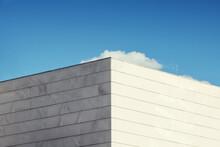 Abstract Modern Archecture. Close Up Of A Contemporary Building Facade.