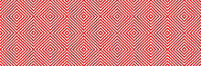 Vector Geometric Pattern Seamless Set For Your Design. Pastel Background For Textile Design.