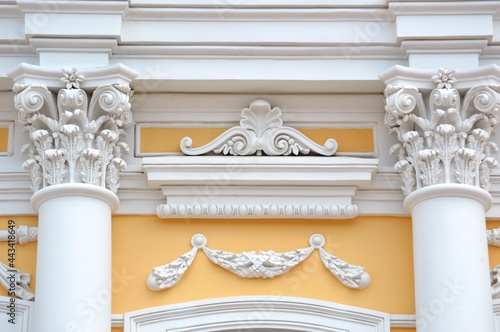 detail of a building