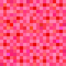 Abstract Backgrounds Mosaic Pixels Light Texture Brick Wall Red Colorful Wallpaper Decoration Pattern Seamless Vector And Illustration EPS10