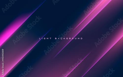 Billede på lærred Abstract diagonal purple light background