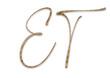 Monogramm, Typografie, Brief, Logo, Initalien, Golden, Elegant, Grafik, Design