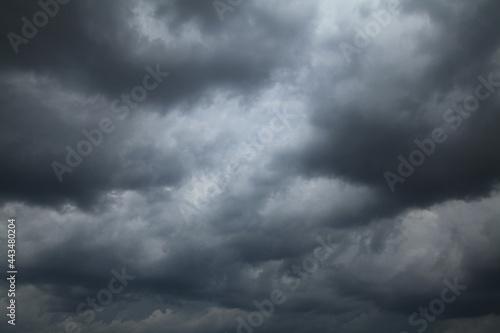 Gloomy mood, depression and despondency Fototapeta