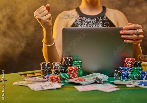 Online casino Fotobehang