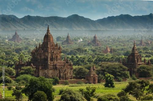 Fotografia Bagan wide