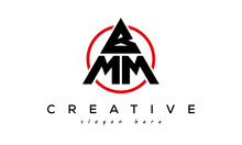 BMM Triangle Letter With Circle Logo