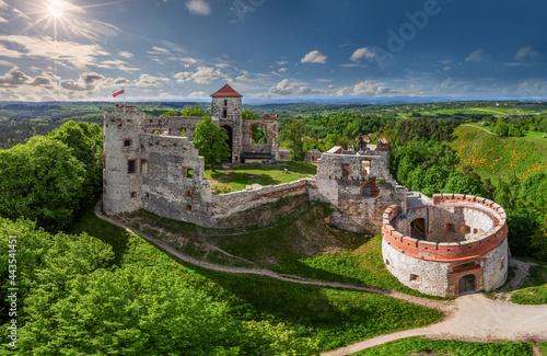 Fotografiet Szlak Orlich Gniazd - Zamek Tenczyn w Rudnie