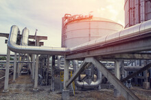 Pipeline Oil And Gas Chemical Storage Tank