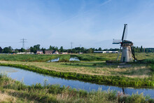 Mill At Poelgeest Polder