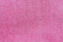 Close-up Of The Pink Textile Texture.