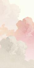 Pastel Pink Cloud Wallpaper