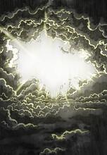 Light Shine Through Dark Cloud