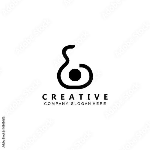 Fototapeta musician musical instrument guitar logo template vector icon