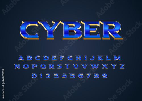 Fotografiet futuristic techno style text effect