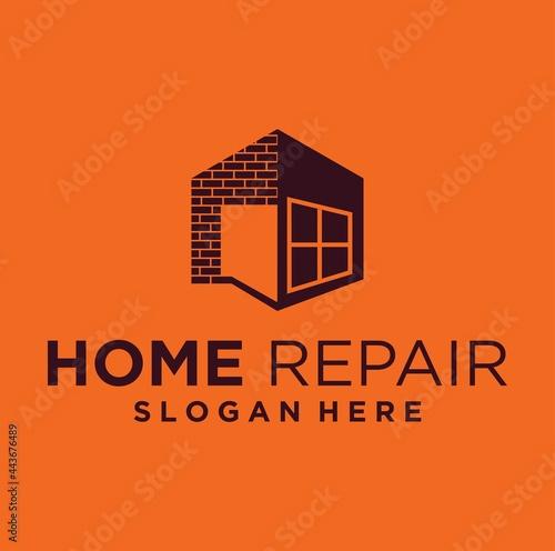 Canvastavla Home repair logo design templates home improvement