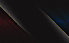 Abstract Black Background Blue And Red Line Light