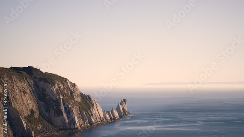 Fotografie, Obraz The needles on the Isle of Wight