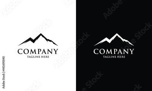 Fotografija Mountain Logo Design Template Inspiration