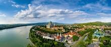 Beautiful City Panorama, Esztergom, Hungary