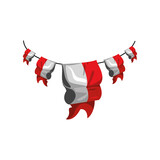 indonesia bunting festive