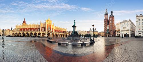 Fotografering Krakow old town, Poland