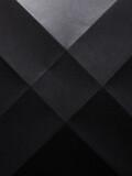 Black paper folded background