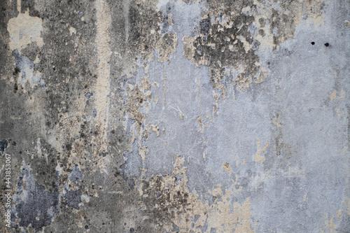 Stampa su Tela Textura de pared rota y vieja