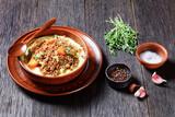 Fototapeta Kawa jest smaczna - Mince and Tatties, potato mash with ground beef