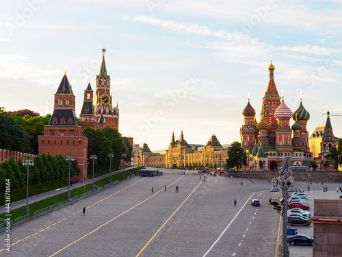 Foto Cathedral of the Intercession of the Most Holy Theotokos, Spasskaya Tower and Kr