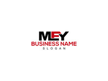 Letter MEY Logo Icon Vector Image Design For Company Or Business