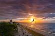 Sonnenuntergang über der Ostsee von Kühlungsborn
