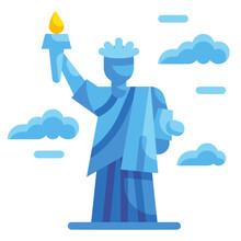 Liberty Flat Icon