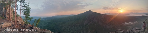 Fotografia sunrise in the mountains