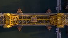 Yellow Bridge From Above