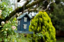 Birdhouse In The Home Garden